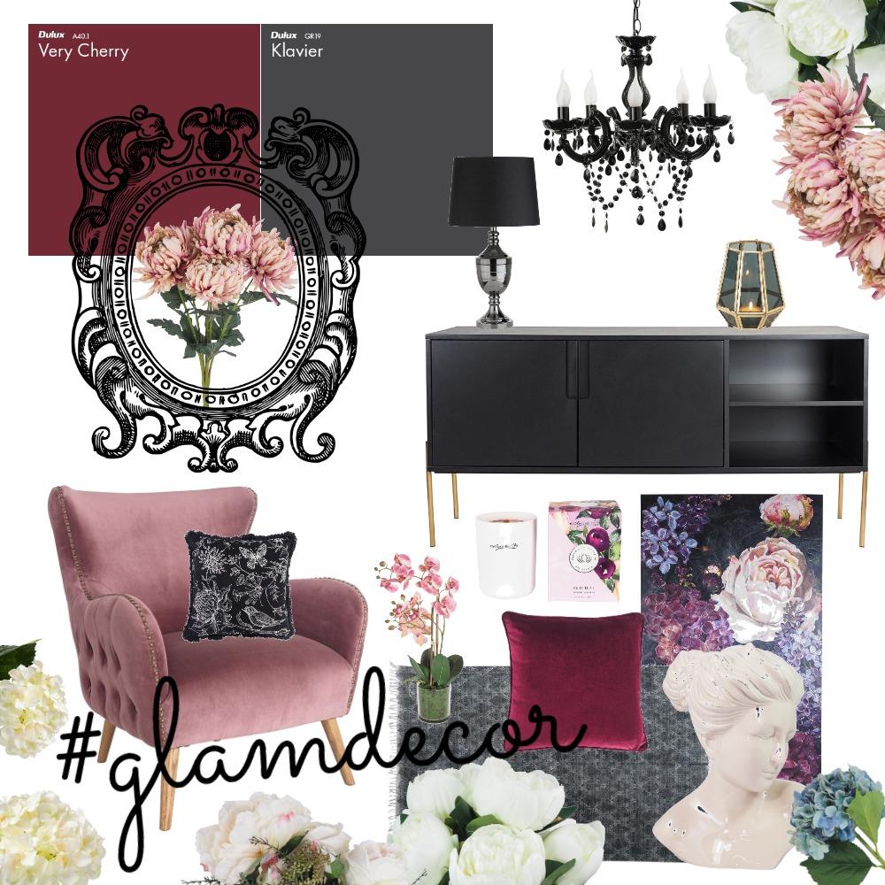 Bold & Glam #glamdecor Interior Design Mood Board by bindeebel on Style Sourcebook