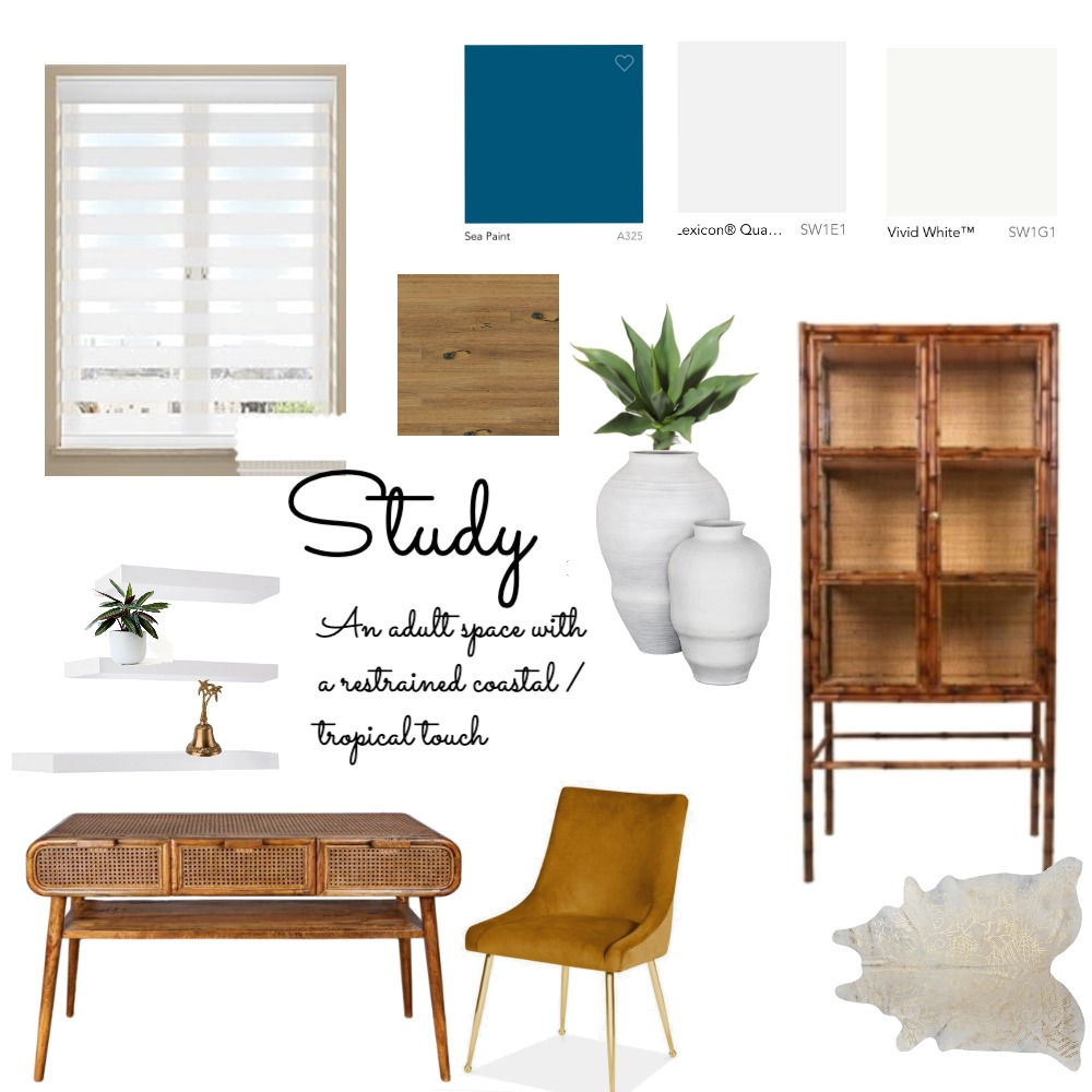 study Interior Design Mood Board by LiaP on Style Sourcebook