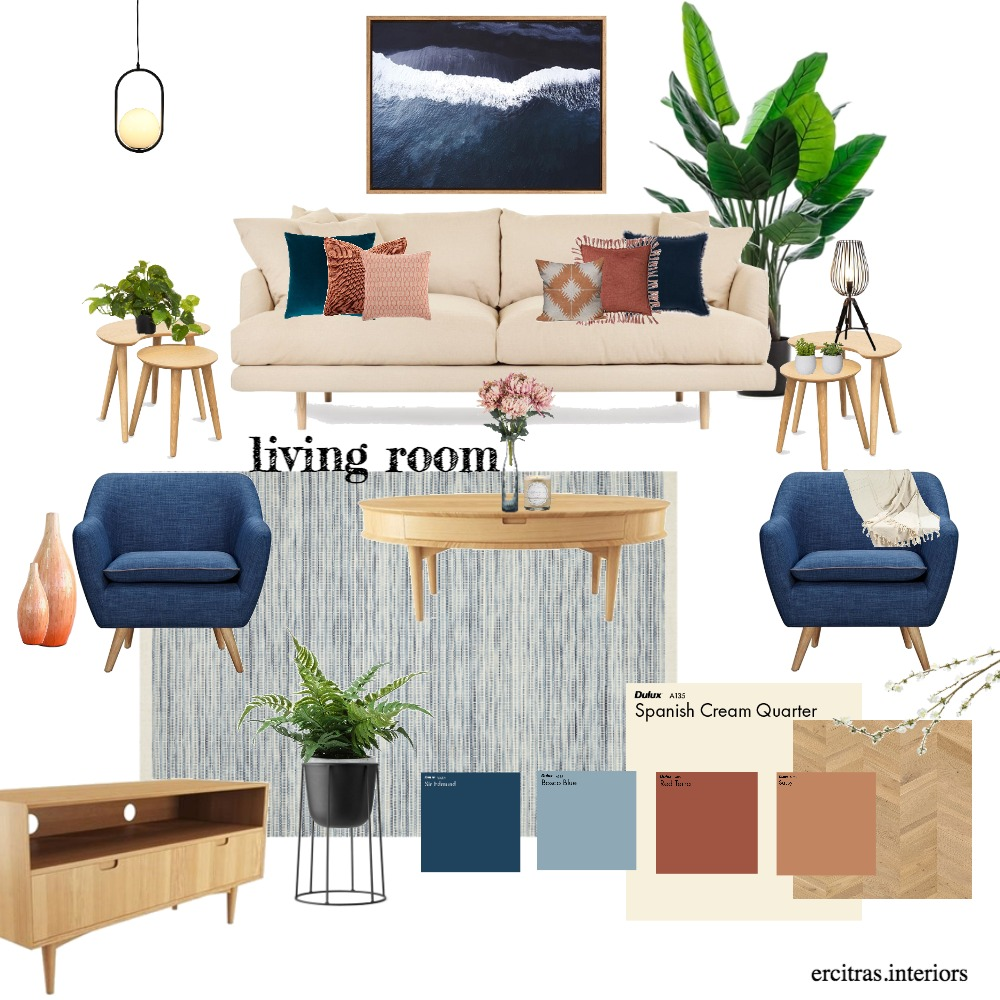 The Smith's Living Room Interior Design Mood Board by ecs22 on Style Sourcebook