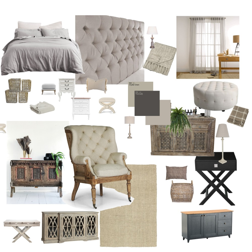Binders Bedroom Interior Design Mood Board by vondamason2 on Style Sourcebook