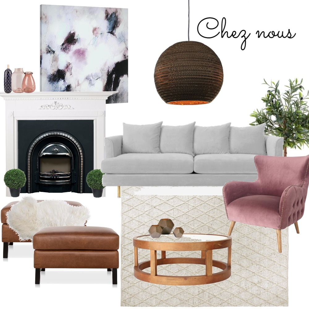 Living Room Interior Design Mood Board by PaigeS on Style Sourcebook