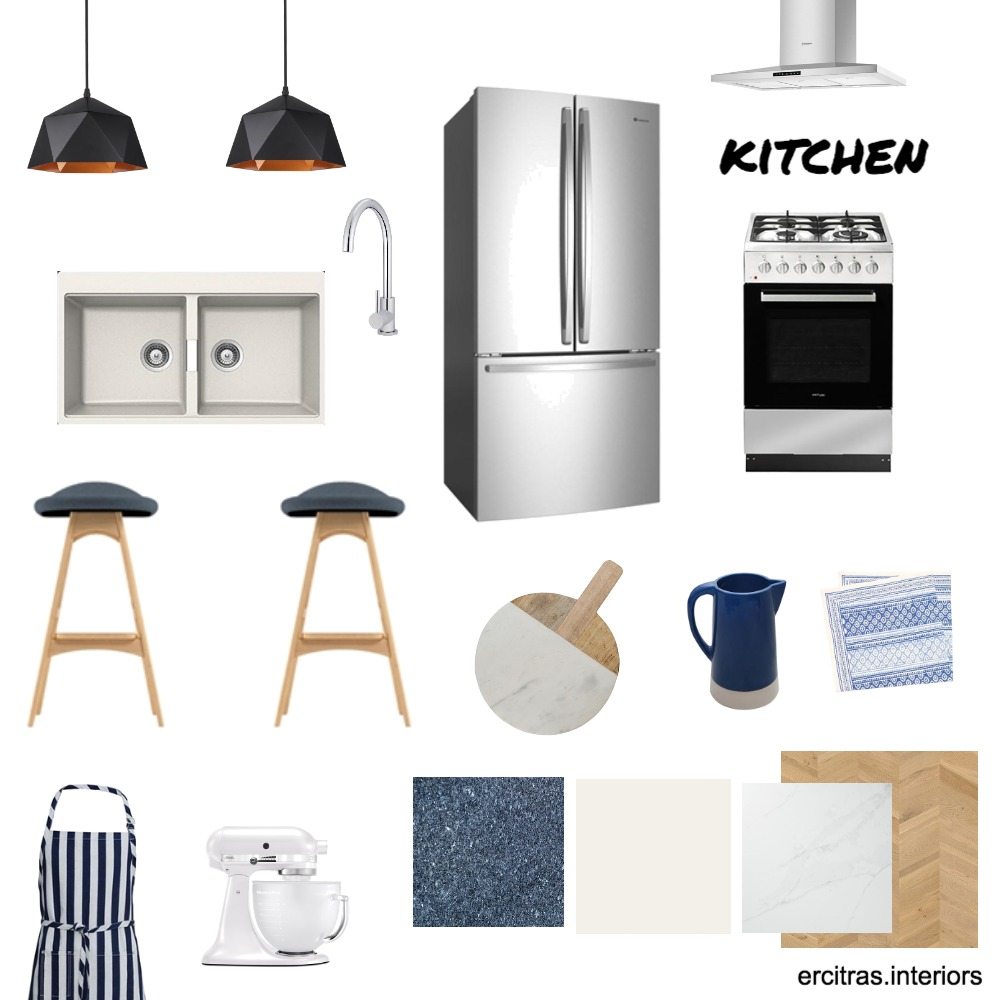 The Smith's Kitchen Interior Design Mood Board by ecs22 on Style Sourcebook