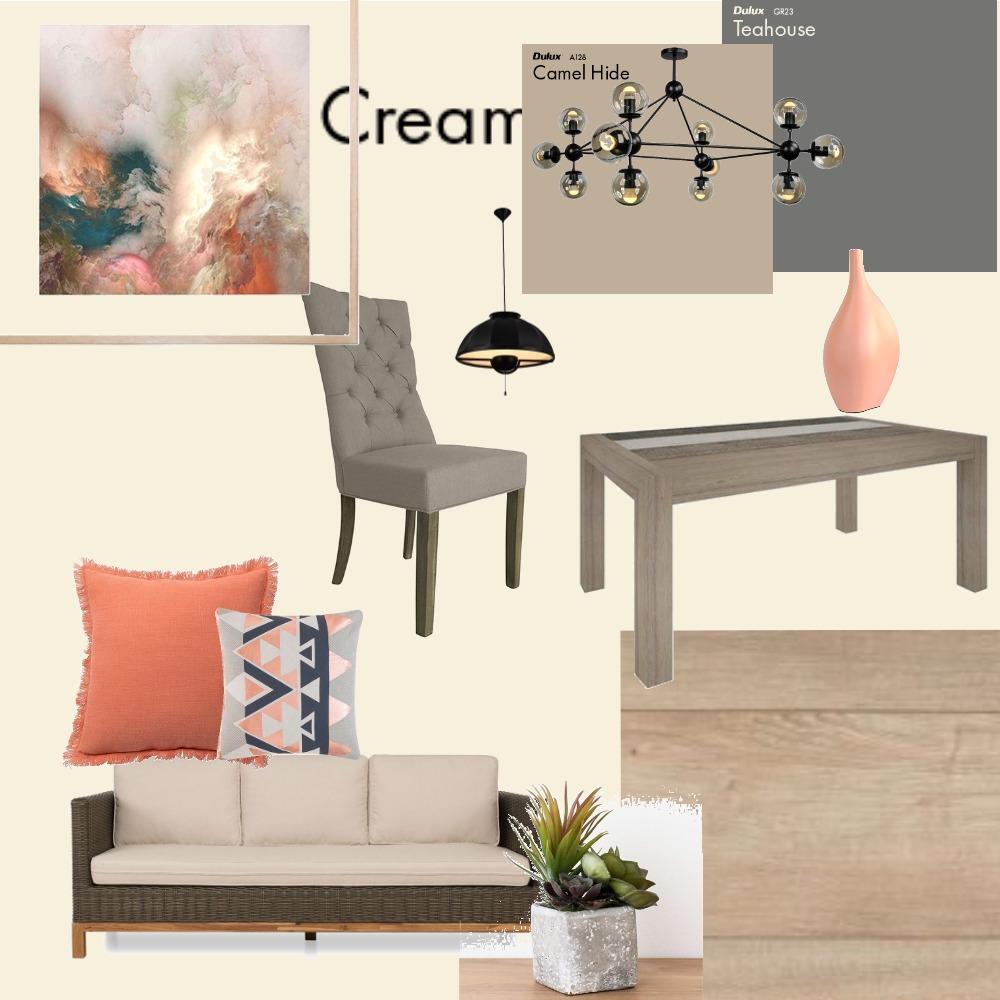Семестриален проект оранжево`-сиво Interior Design Mood Board by Martina_2016 on Style Sourcebook