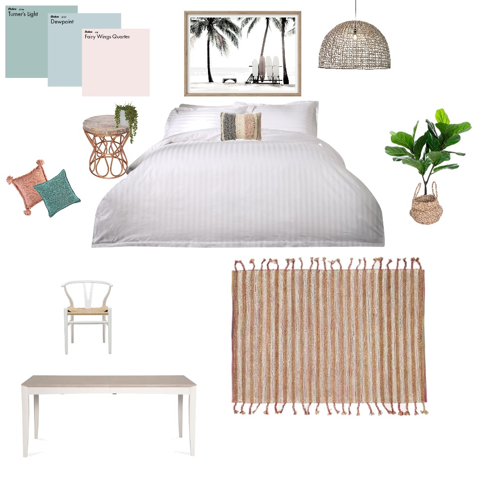 Madi's bedroom Interior Design Mood Board by jodianne on Style Sourcebook