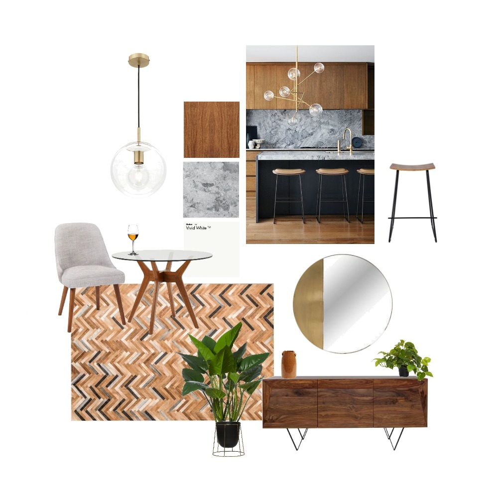 Design Project 1 Dining Interior Design Mood Board by Aimee & Co. Interior Styling on Style Sourcebook