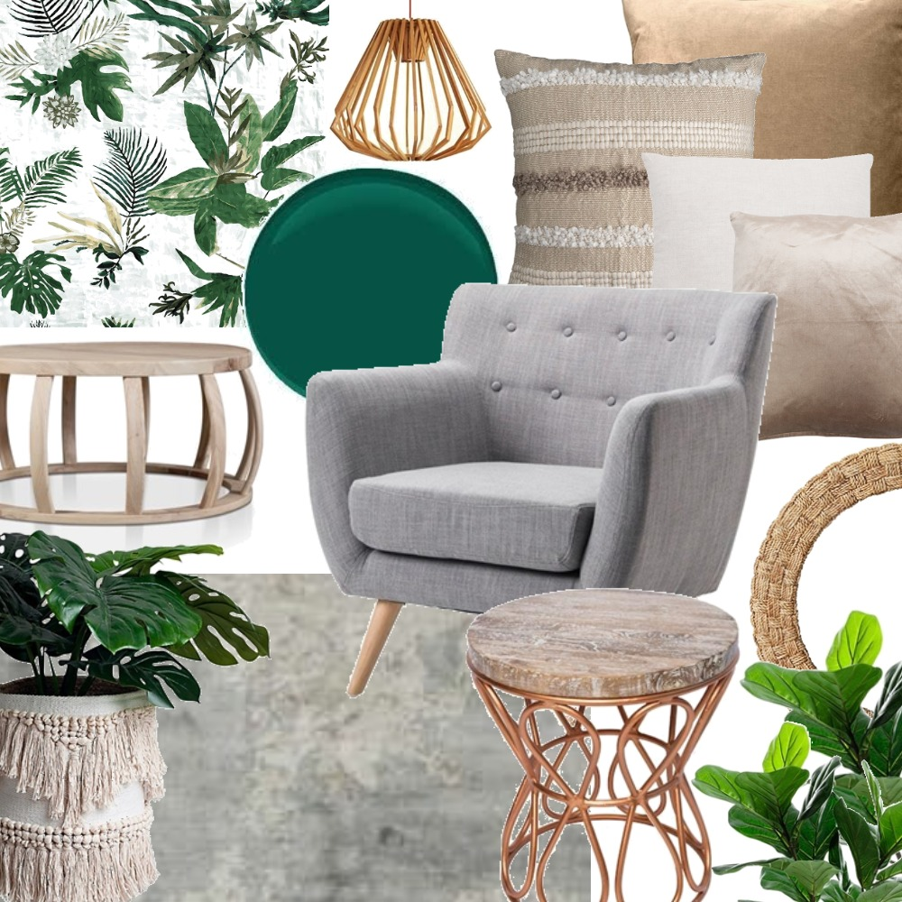 green Interior Design Mood Board by claireswanepoel on Style Sourcebook