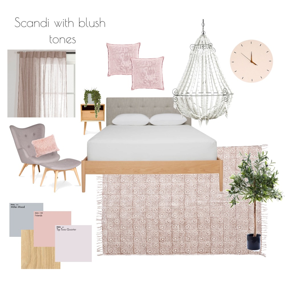 Scandi blush Interior Design Mood Board by RebeccaW on Style Sourcebook