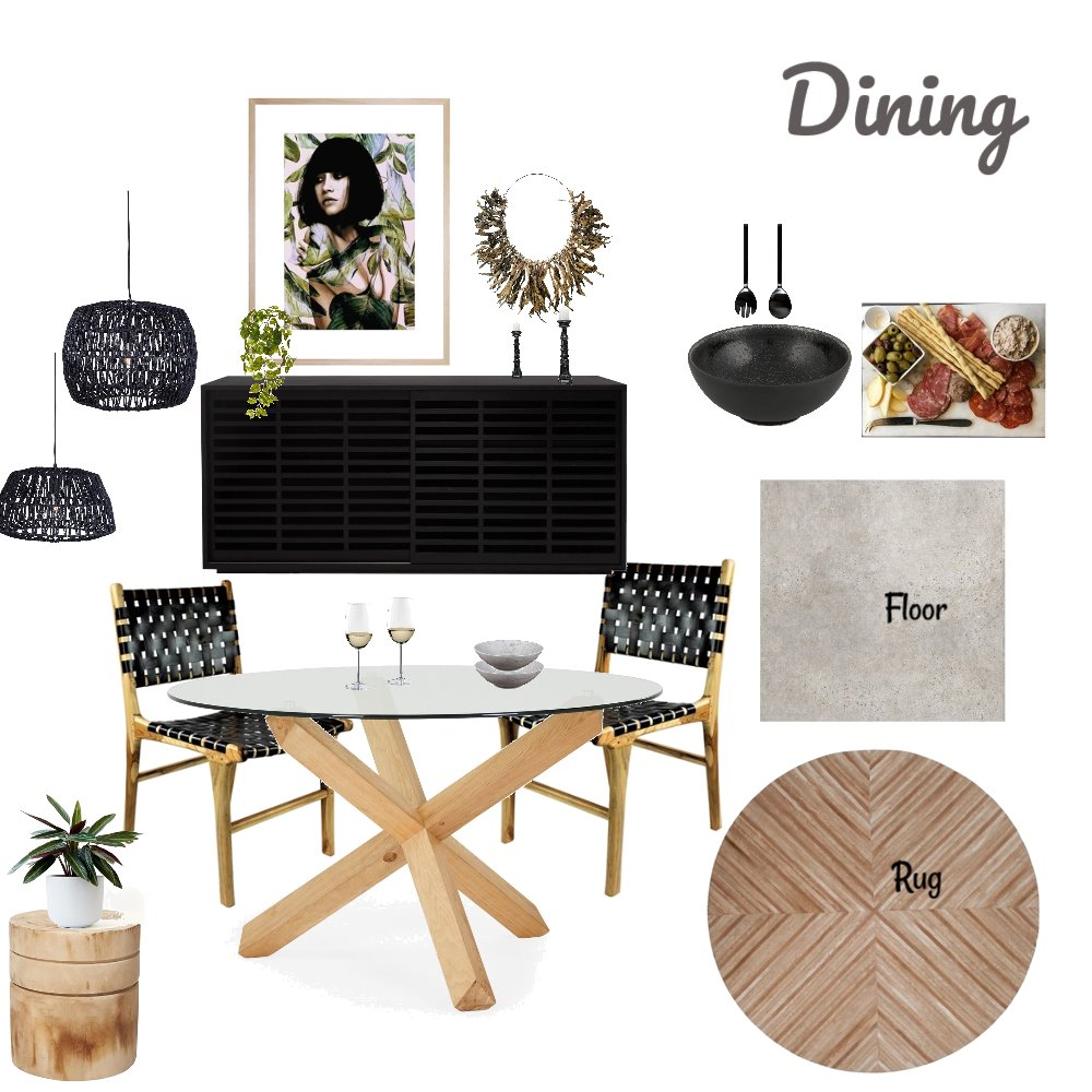 Dining Room Interior Design Mood Board by Coco Lane on Style Sourcebook