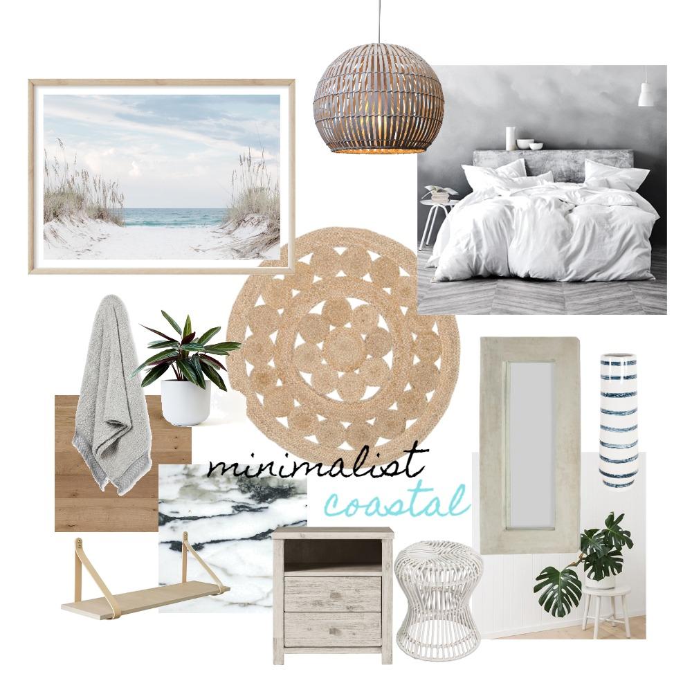 Minimalist Coastal Interior Design Mood Board by travellinpanda on Style Sourcebook