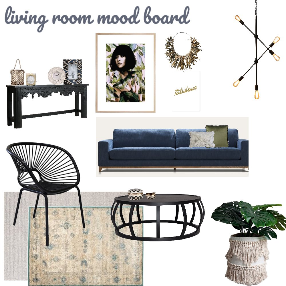 living room mood board Interior Design Mood Board by efratco on Style Sourcebook