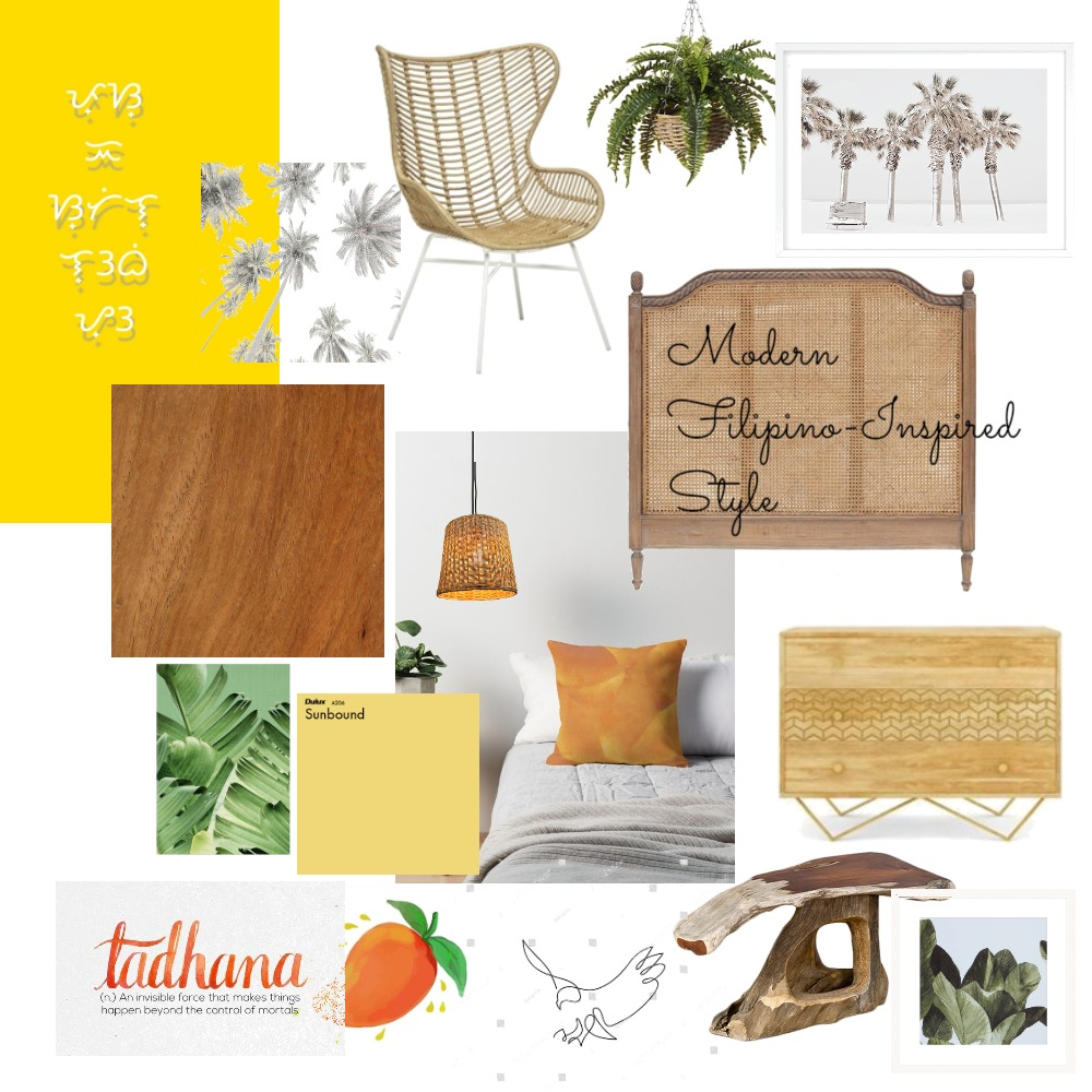 Modern Filipino-Inspired Style Interior Design Mood Board by travellinpanda on Style Sourcebook