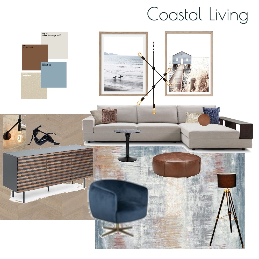 Coastal Living Interior Design Mood Board by MODDEZIGN on Style Sourcebook