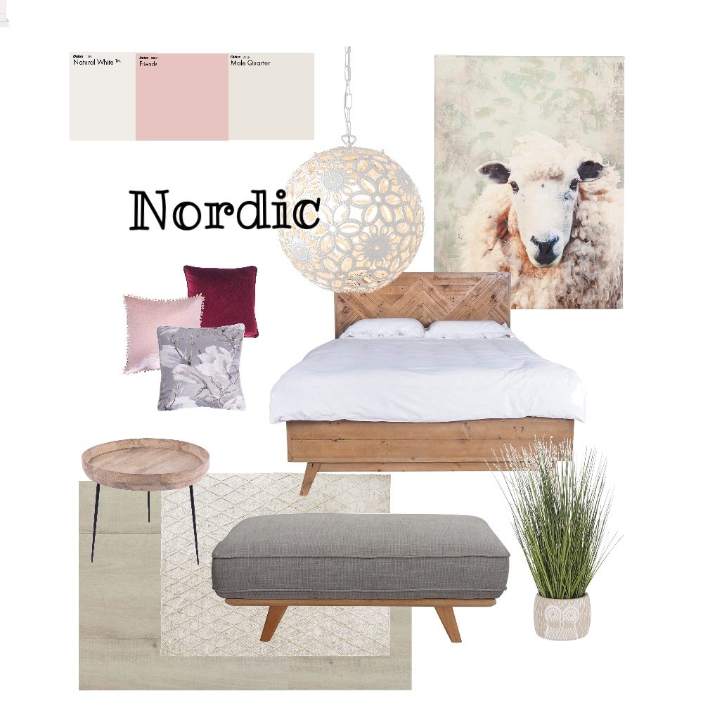 Nordic style Interior Design Mood Board by monklit on Style Sourcebook