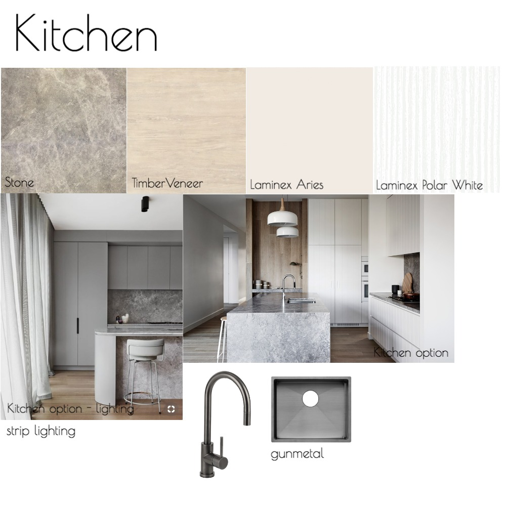 Kitchen - 64 Anderson St Interior Design Mood Board by jchaimbo on Style Sourcebook
