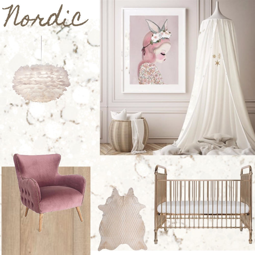Nordic Nursery Interior Design Mood Board by words2emily on Style Sourcebook