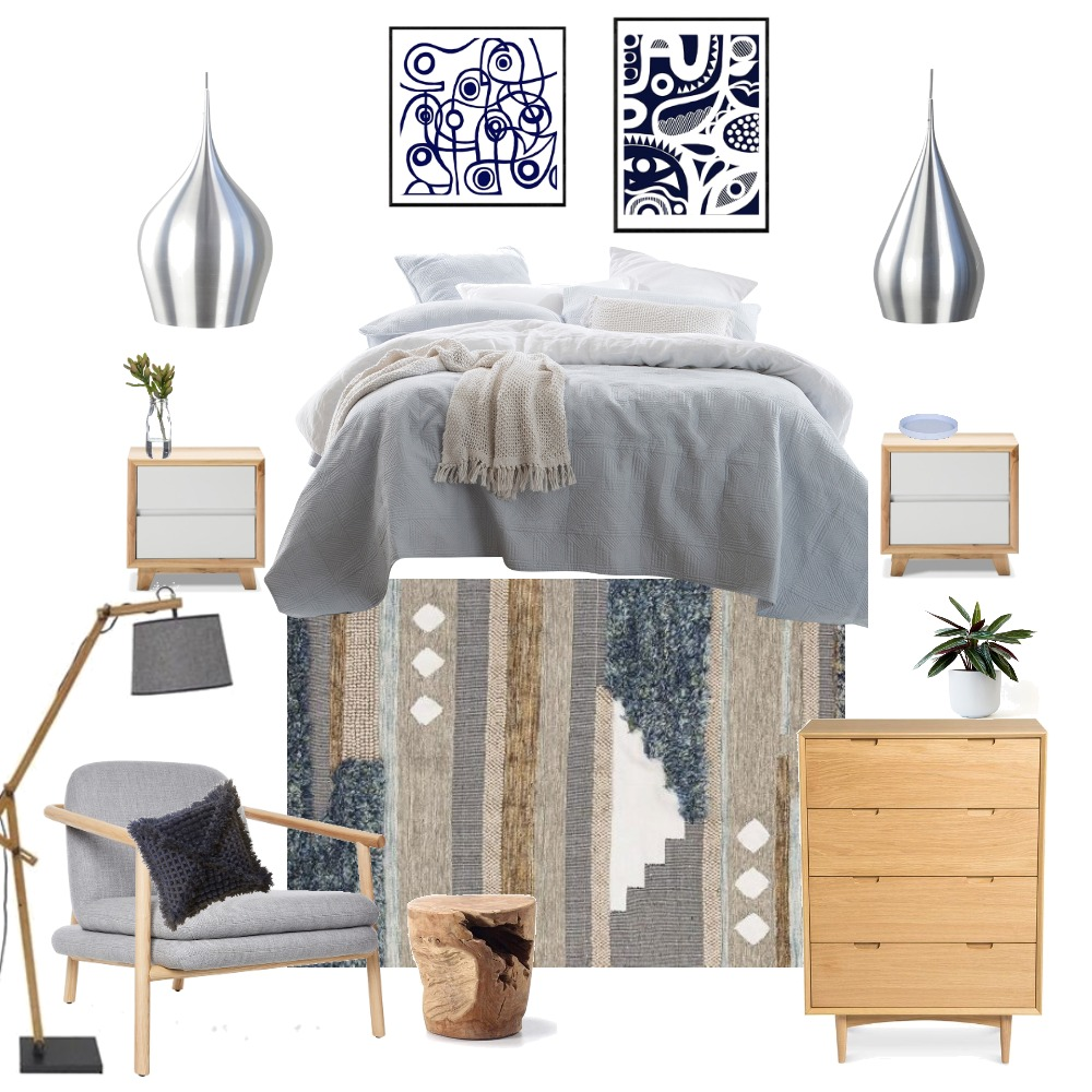 Nordic Bedroom Interior Design Mood Board by Taneisha on Style Sourcebook