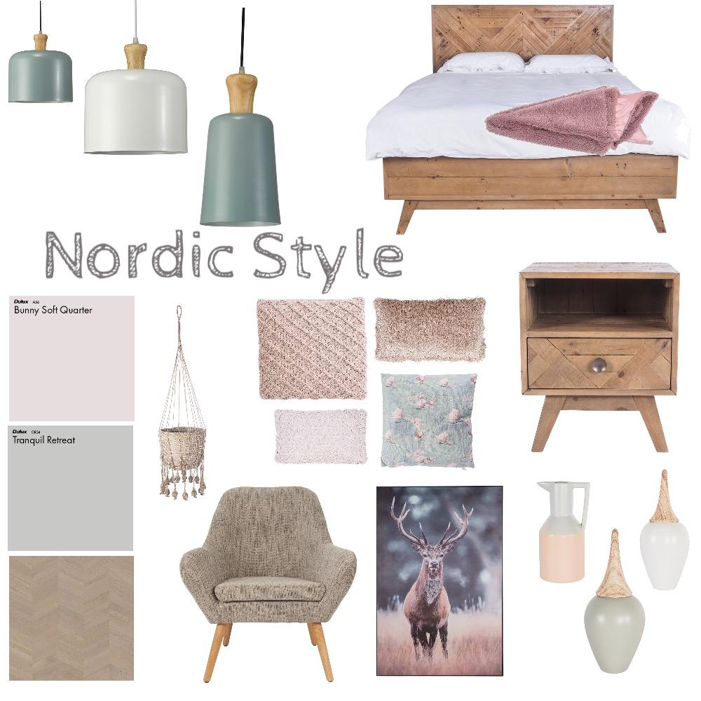 Nordic Bedroom Interior Design Mood Board by tj10batson on Style Sourcebook