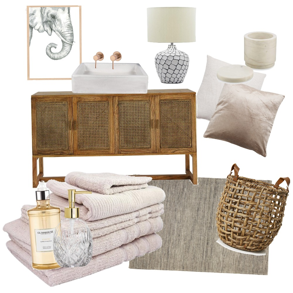 Bohemian   HOME SPA Interior Design Mood Board by Denise Pinot on Style Sourcebook
