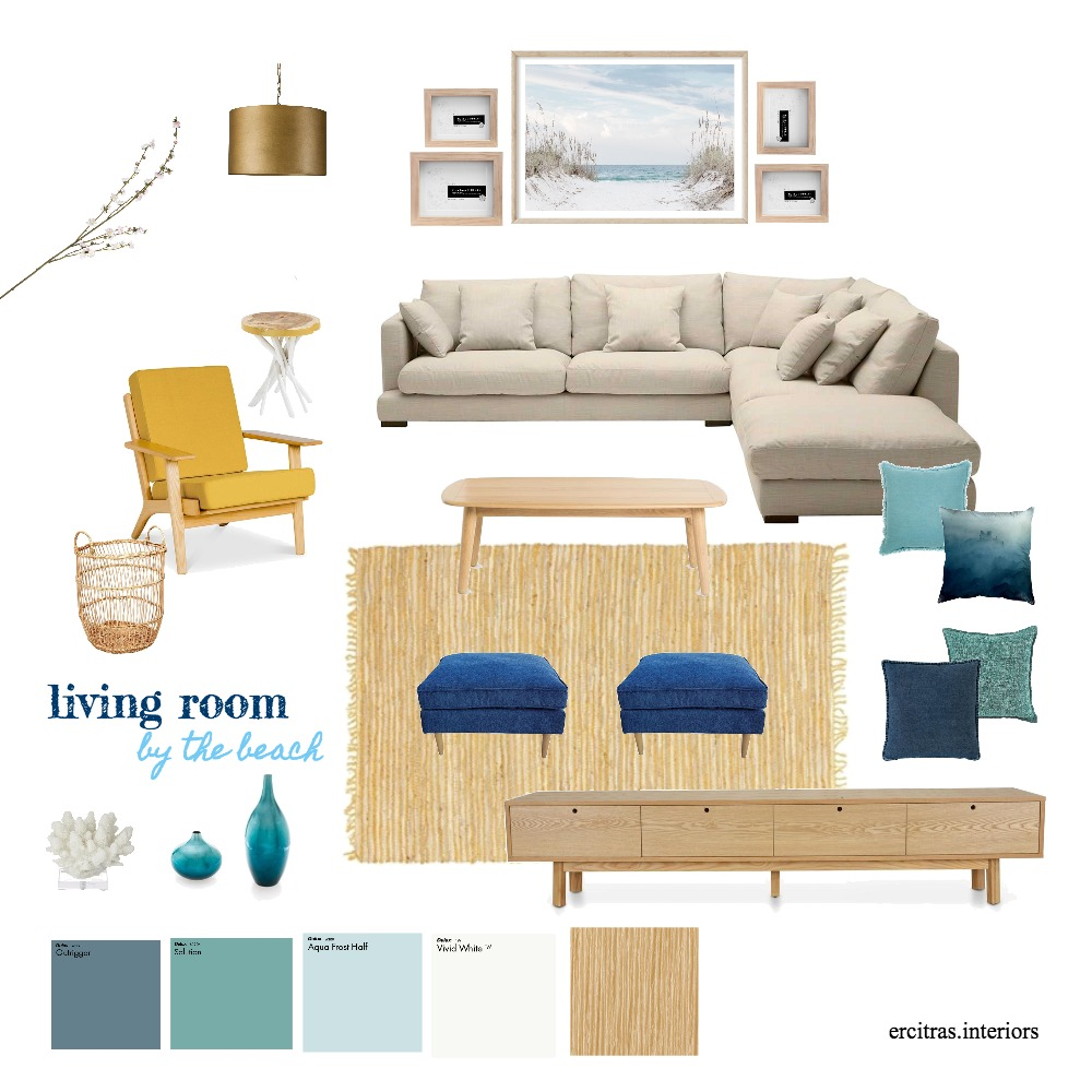 Edithvale Townhouse Interior Design Mood Board by ecs22 on Style Sourcebook