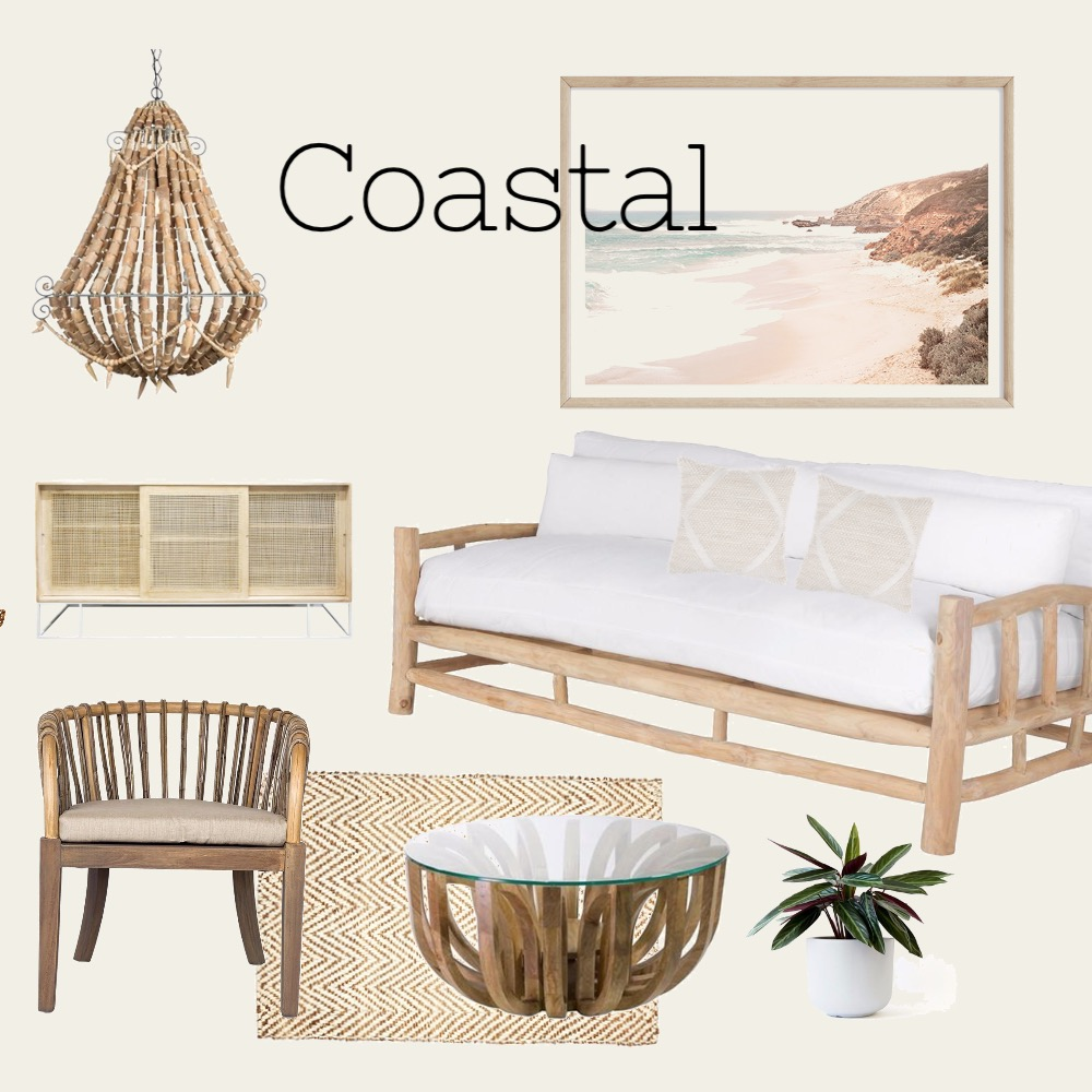 Coastal natural Interior Design Mood Board by monklit on Style Sourcebook