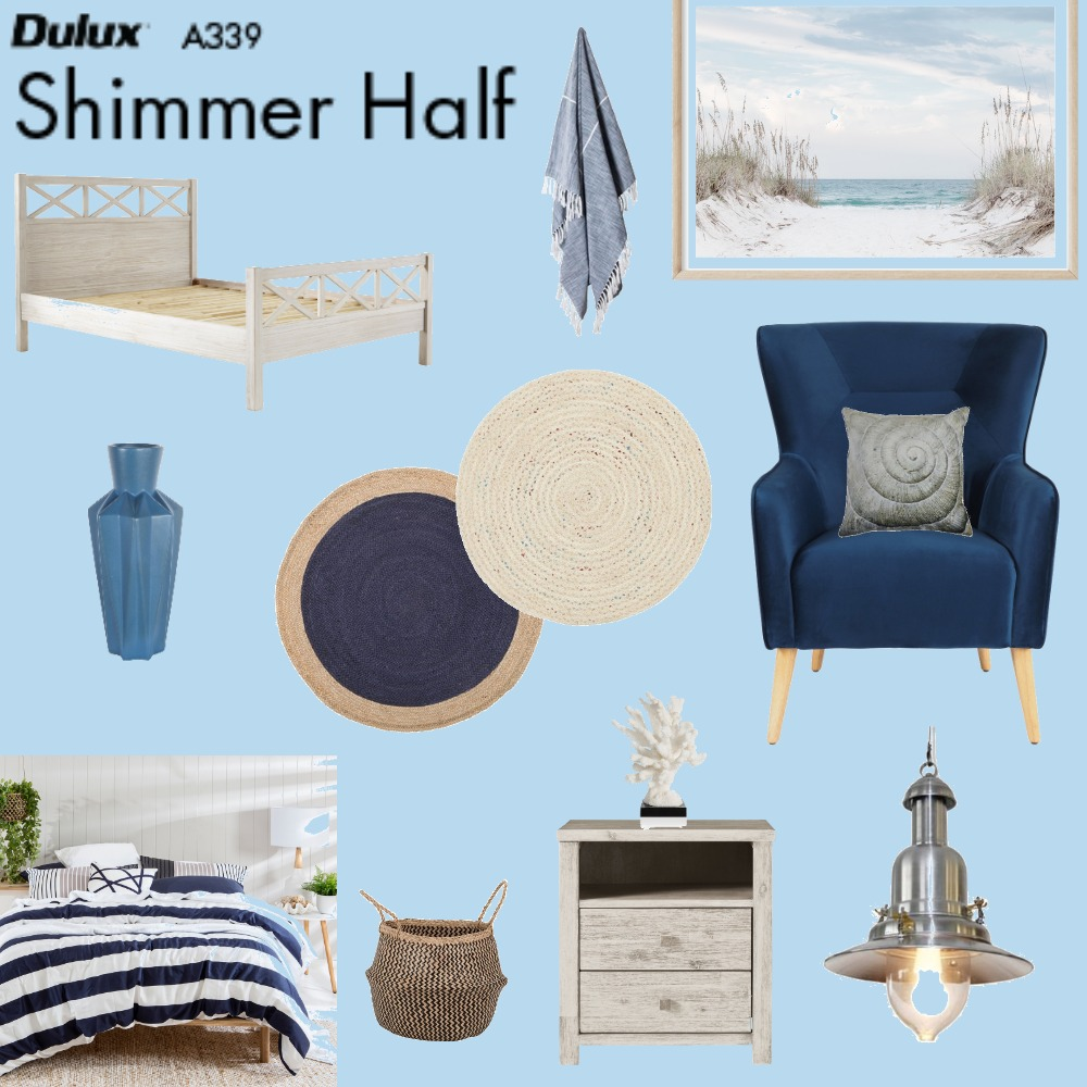Beach Escape Interior Design Mood Board by evanse on Style Sourcebook