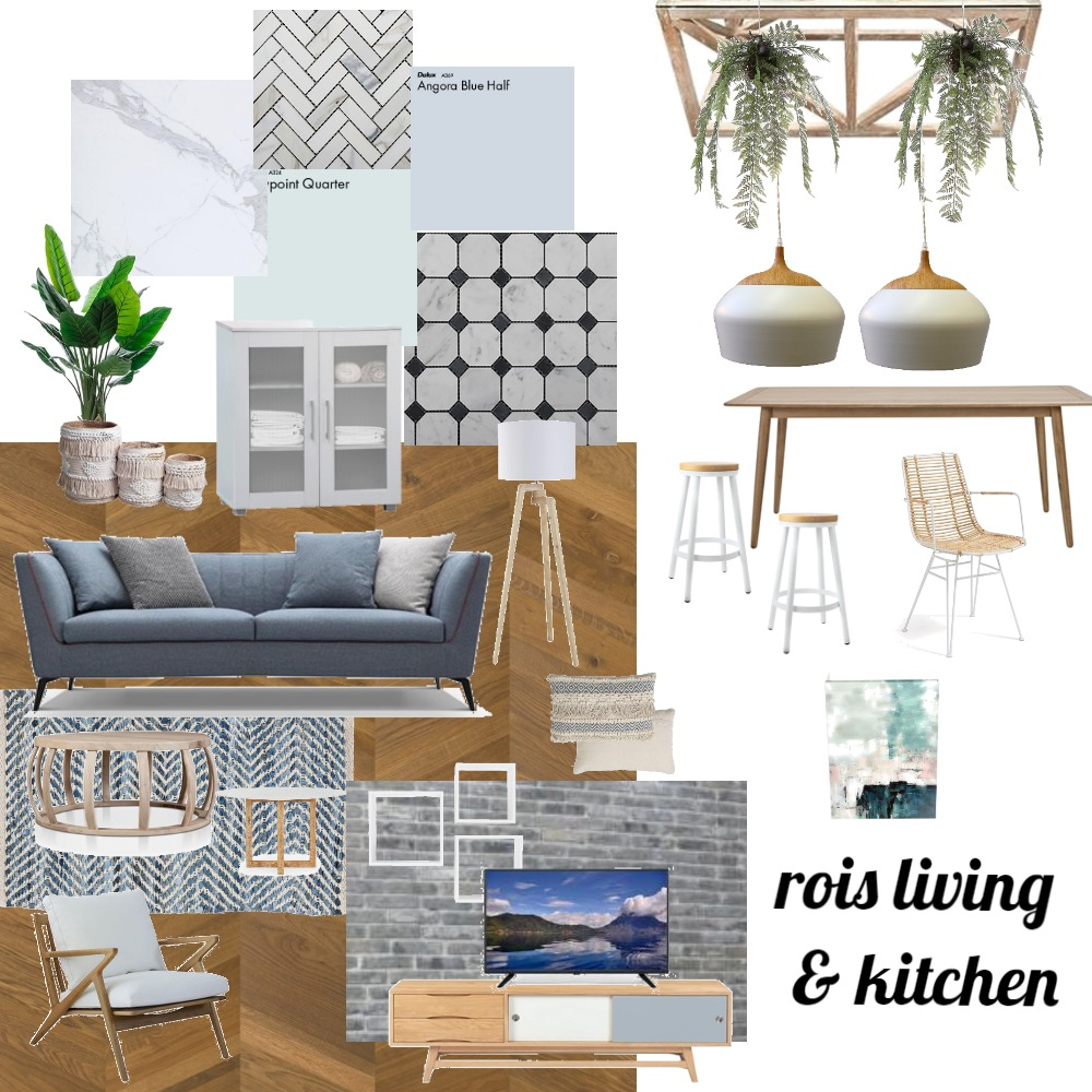 2רועי רמר חלל מרכזי Interior Design Mood Board by netaleesteph on Style Sourcebook