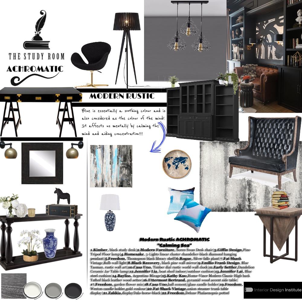 study room Interior Design Mood Board by rinadavid on Style Sourcebook