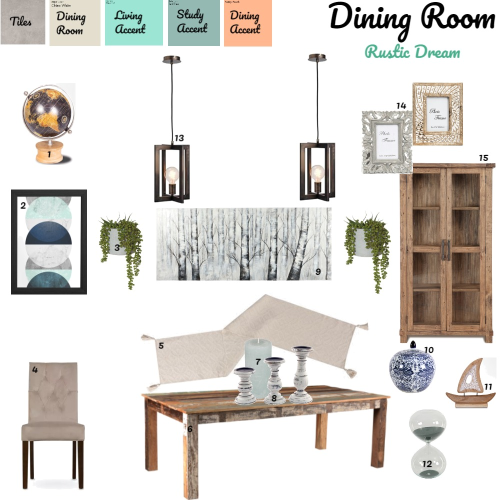 Dining Room Interior Design Mood Board by JessicaGrey22 on Style Sourcebook