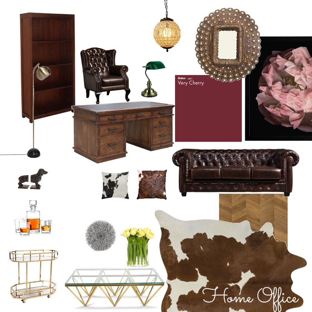 Home office Interior Design Mood Board by Leahjane on Style Sourcebook