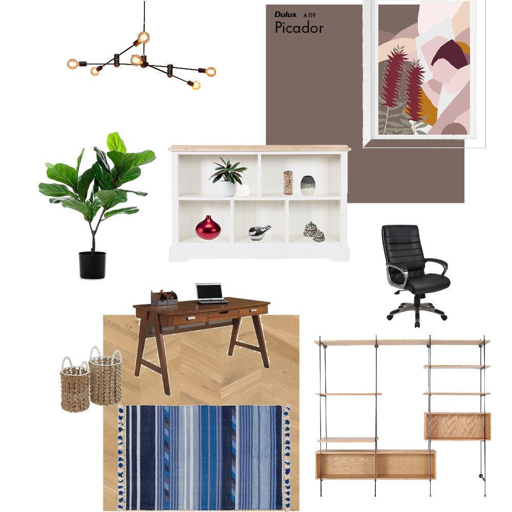 Study Interior Design Mood Board by Natashajj on Style Sourcebook