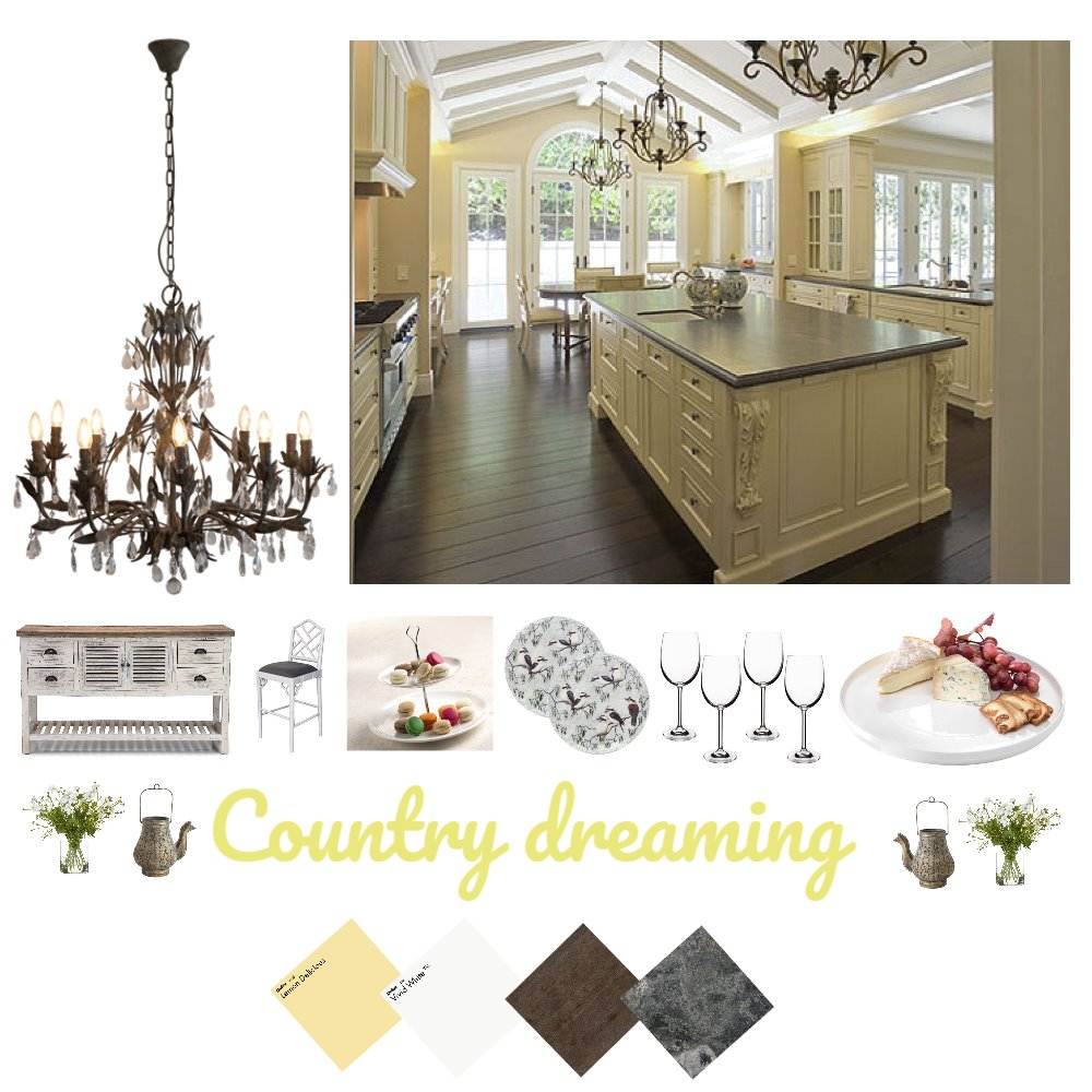Country Dreaming Interior Design Mood Board by Natalie V on Style Sourcebook