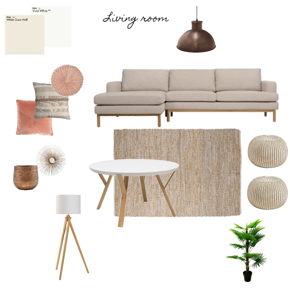 living (Mer) Interior Design Mood Board by AnissaTa on Style Sourcebook
