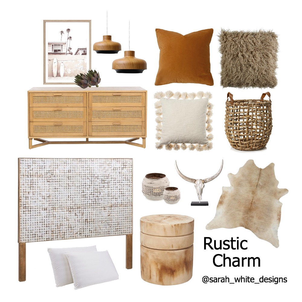 Rustic Charm Interior Design Mood Board by WhiteDesigns on Style Sourcebook
