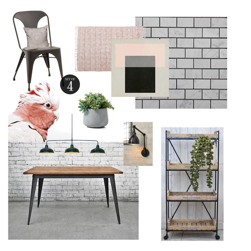 soft industrial Interior Design Mood Board by emjay5414 on Style Sourcebook