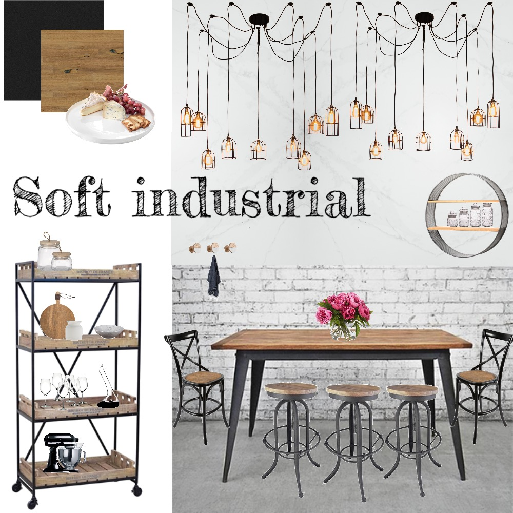 industrial Interior Design Mood Board by mazzziie123 on Style Sourcebook