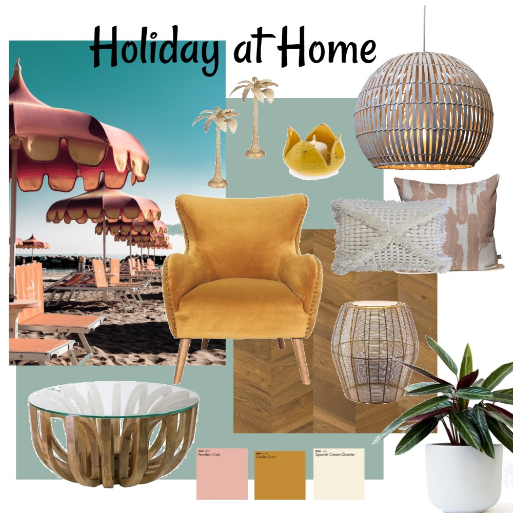 Fat Shack - Holiday at Home Interior Design Mood Board by Robbie on Style Sourcebook