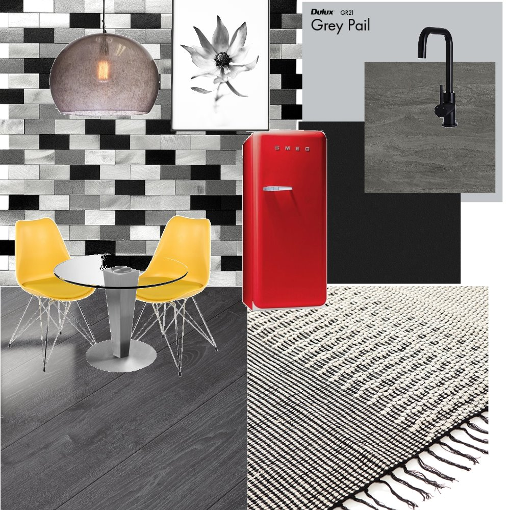 Kitchen yellow Interior Design Mood Board by Tayanna on Style Sourcebook