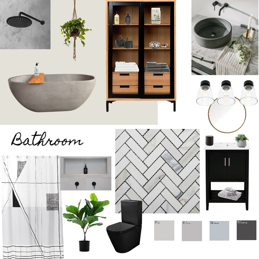 Bathroom Interior Design Mood Board by Kcmullett on Style Sourcebook