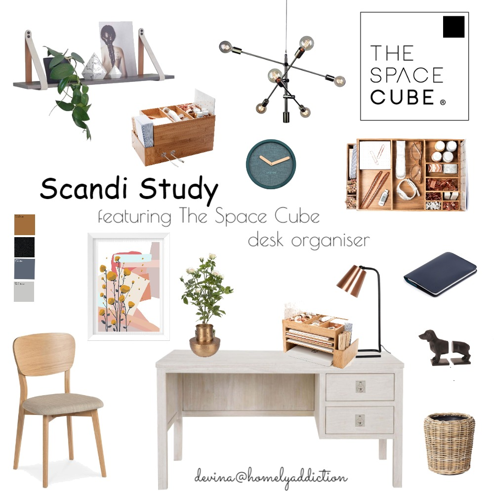 The space cube project Interior Design Mood Board by HomelyAddiction on Style Sourcebook
