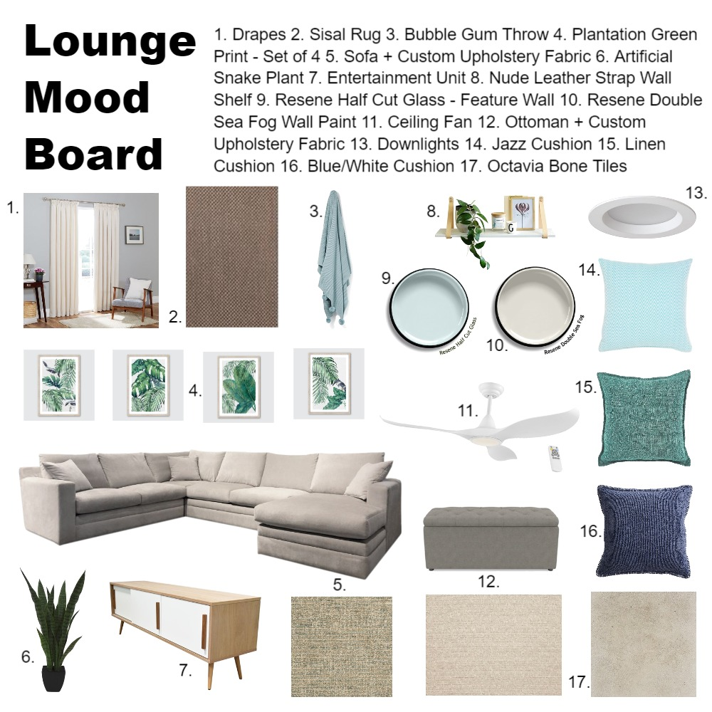 Lounge Moodboard IDI Interior Design Mood Board by DonnaS on Style Sourcebook