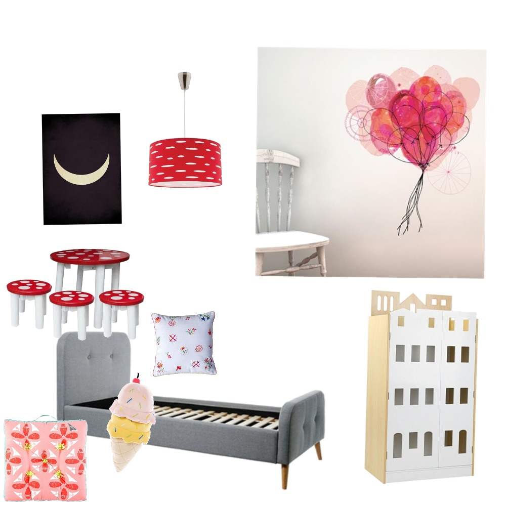 Kids room Interior Design Mood Board by Tansuff on Style Sourcebook