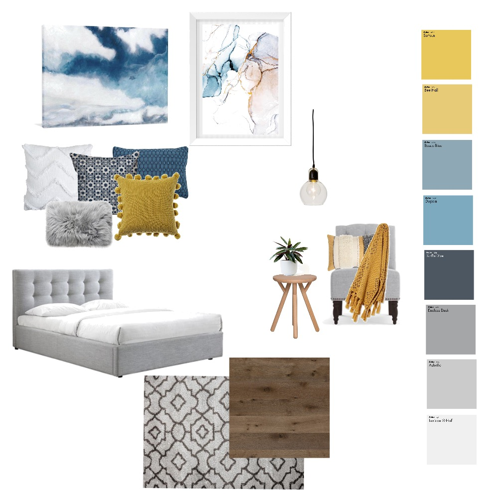Master Bedroom Interior Design Mood Board by AShigrov on Style Sourcebook