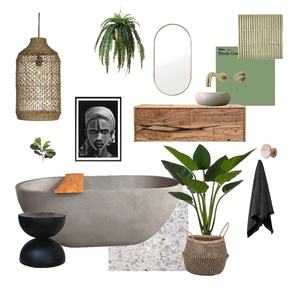 tropical lush Interior Design Mood Board by Caseyjo on Style Sourcebook