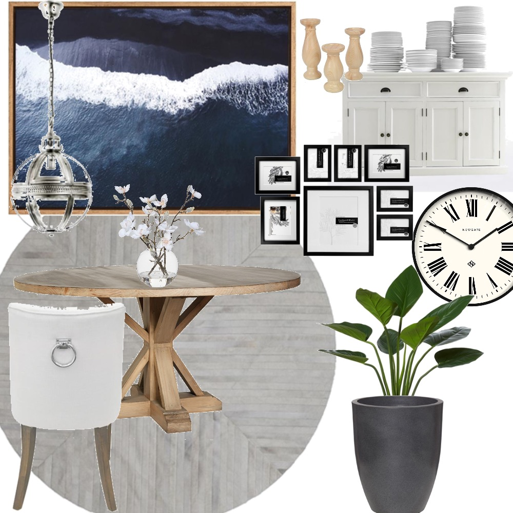 Hamptons chic Interior Design Mood Board by Autumn & Raine Interiors on Style Sourcebook