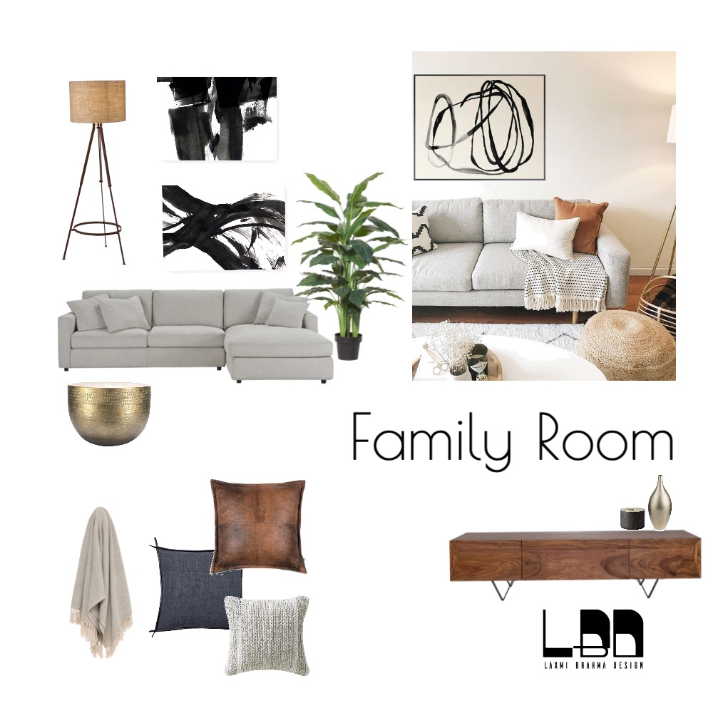 Tan - family room Interior Design Mood Board by cathy on Style Sourcebook