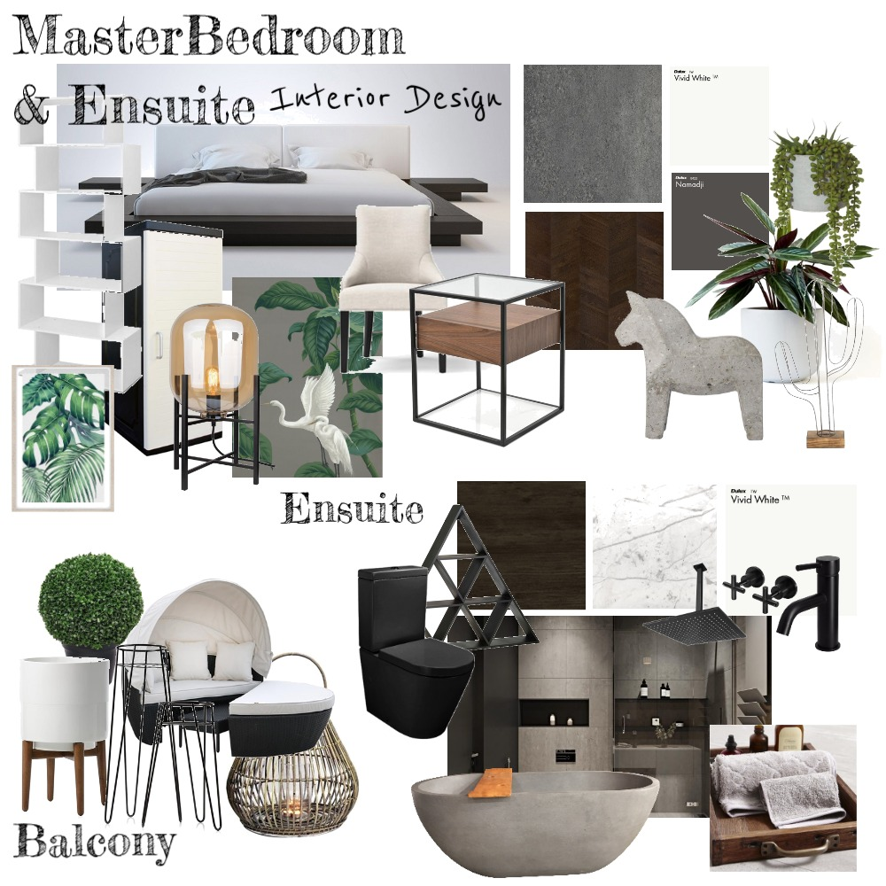 MasterBedroom Interior Design Mood Board by ElishaCelis on Style Sourcebook