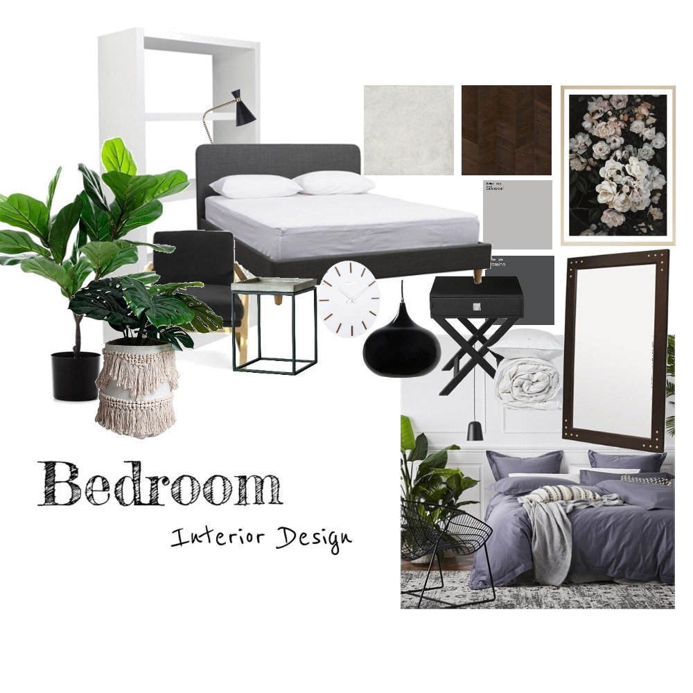 Bedroom Interior Design Mood Board by ElishaCelis on Style Sourcebook