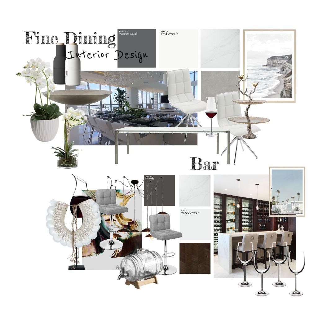 Fine Dining Interior Design Mood Board by ElishaCelis on Style Sourcebook