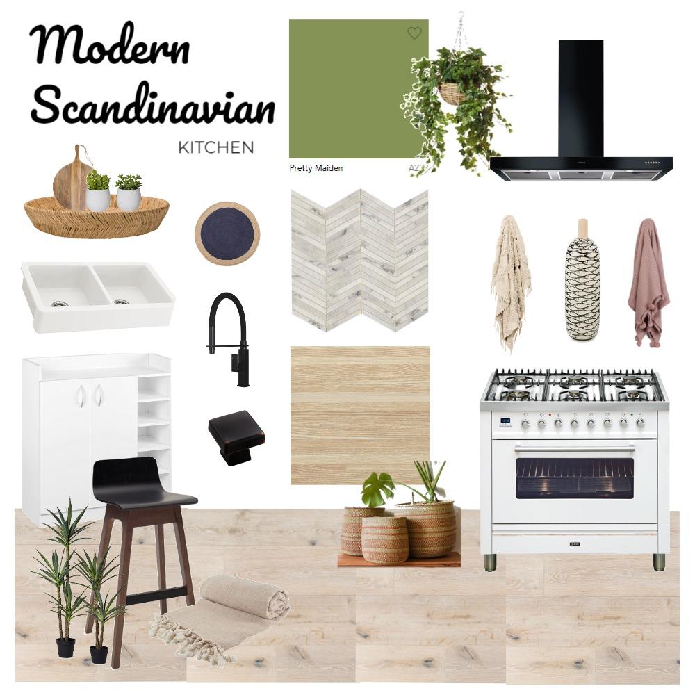 Modern Scandinavian Kitchen Interior Design Mood Board by unicatheunicorn on Style Sourcebook