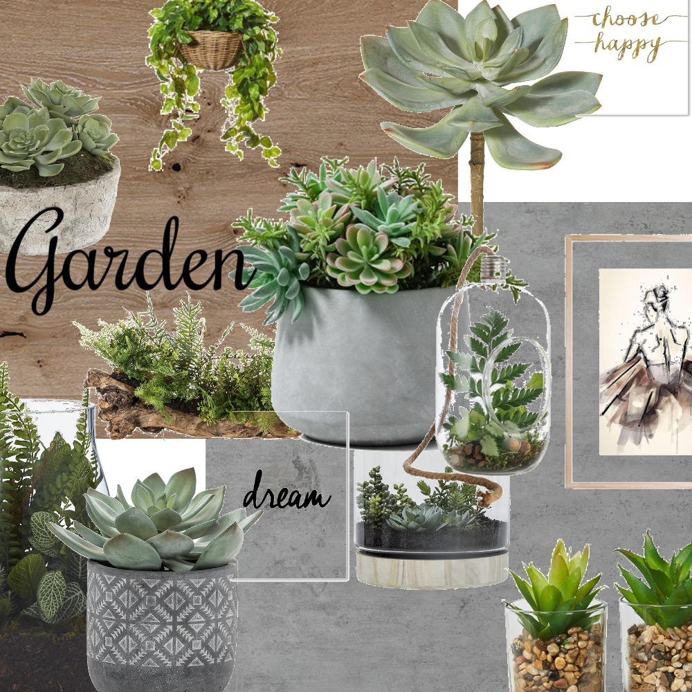 Garden Interior Design Mood Board by nonage on Style Sourcebook